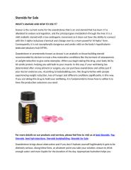 Steroids for Sale.docx