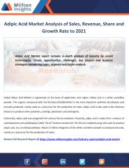 Adipic Acid Market Analysis of Sales, Revenue, Share and Growth Rate to 2021.pdf