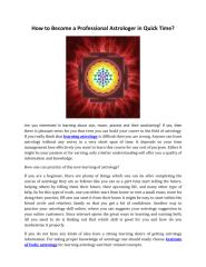 How to Become a Professional Astrologer in Quick Time.pdf