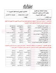 وذج اختبار نهائي - لغة عربية 201.pdf