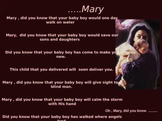 Mary_did_you_1_[1].......pps