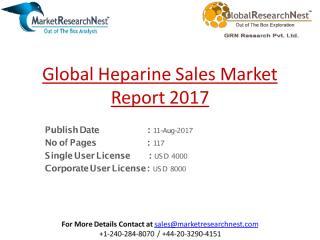 Global Heparine Sales Market Report 2017.pdf