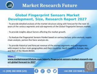 Global Fingerprint Sensors Market 2027.pptx