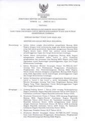 PMK No.250 Tahun 2011 Tentang Tata Cara Pengelolaan BMN Yang Tidak Digunakan Dalam Tusi Kementerian.pdf