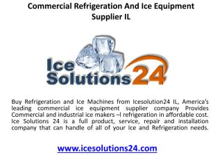 Commercial Refrigeration And Ice Equipment Supplier IL.pdf