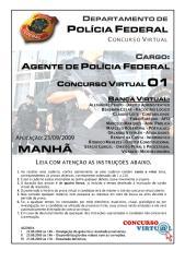 Simulado PF concurso virtual  - cargo de Agente.pdf