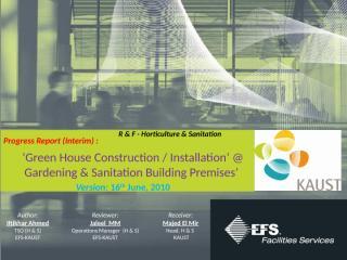Green House IA-100616.pptx