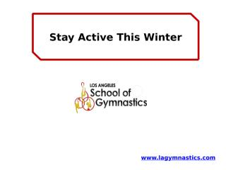 Stay Active This Winter.pptx