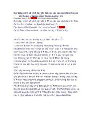 Hướng dẫn để thu âm với phần mềm Adobe Auditon 1.doc