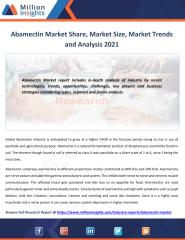 Abamectin Market Share, Market Size, Market Trends and Analysis 2021.pdf