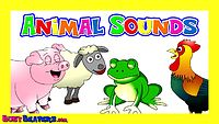 'Animal Sounds Song' - Kids Learning Nursery Rhymes, Learn the Sounds of the Animals, Baby Songs,.mp4
